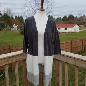Maurices Color Block Cardigan